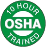 10 Hour OSHA Trained