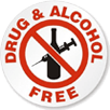Drug & Alcohol Free