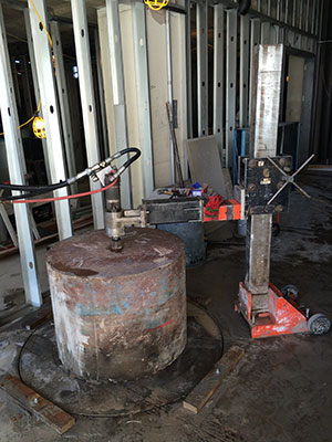 Concrete Core Drilling 2