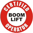 Certified Boom Lift Operator